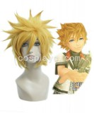 Kingdom Hearts-Ventus Golden  Cosplay wig WIG-201A
