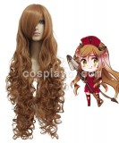CodeGeass-Nunnally Vi Britannia Brown Cosplay wig WIG-207C