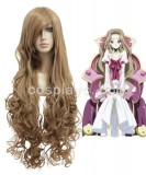 Code Geass-Nunnally Vi Britannia / Nunnally Lamperouge Blond Cosplay wig WIG-207A