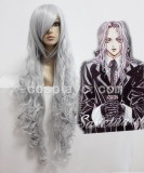 Angel sanctuary-Rosiel Silvery Grey Cosplay wig WIG-207B