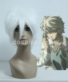 Gin Tama/DEATH NOTE-Sakata Gintoki/Near White Cosplay wig WIG-204A