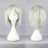 35cm Long DRAMAtical Murder DMMD-Clear Cosplay wig WIG-271B