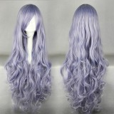 90cm Long Rozen Maiden Light Purple Anime Cosplay wig WIG-207D
