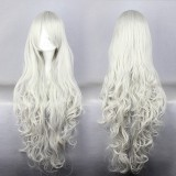 90cm Long angel sanctuary-Rosiel Silvery White Anime Cosplay wig WIG-207E