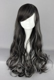 70CM Lolita/zipper wig Mix Color With WIG-382B
