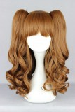 45CM Lolita/zipper wig Mix Color With Two Ponytails WIG-386A