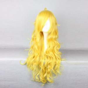RWBY Yang Xiao Long Yellow Long Curly Cosplay Wig WIG-011D