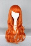60CM One Piece-Nami after two years Orange Color Cosplay Wig WIG-338B