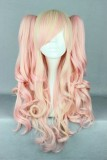 70CM Lolita/zipper wig Mix Color With Two Ponytails WIG-385A