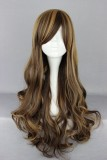 70CM Lolita/zipper wig Mix Color With  WIG-383B