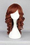 60CM Lolita wig brown Color Long Curly Hair WIG-512A