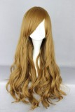 70CM Lolita Curly zipper wig Brown Color WIG-402A
