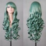 80cm Long Wave Lolita Wig Green Wig WIG-590G