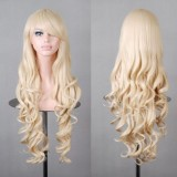 80cm Long Wave Lolita Wig Milk Golden Wig WIG-590D