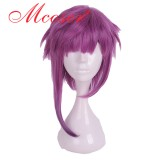 50cm Medium Straight Purple Cosplay Wig WIG-658O