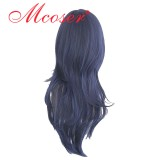 The Prince of Tennis black blue cosplay wig 040A