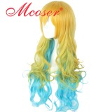 80cm Long Wave Kobayashi san Chi no Maid Dragon Cosplay Wig WIG-643C