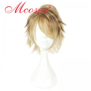 35cm Short Straight Fashion Cosplay Wig WIG-658F