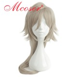 75cm Long Straight Grey Cosplay Wig WIG-658G