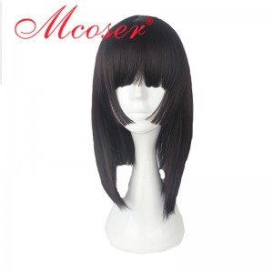 40cm Medium Straight Onmyoji Cosplay Wig WIG-636C