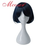 30cm Short Straight SINoALICE Dark Blue Cosplay Wig WIG-655H