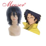 The Prince of Tennis dark blue cosplay wig 027B