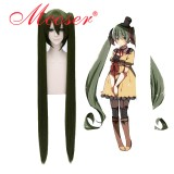 Cosplay wig Vocaloid-Miku As the photo 130CM 072E