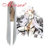 VOCALOID-haku silvery white Cosplay wig 018F