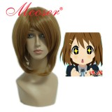 32CM  Long K-ON!!-Hirasawa Yui Brown Cosplay Wig WIG-194A