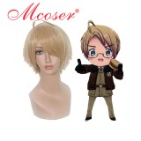 Hetalia--Alfred F Jones Cosplay wig005A