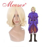 Hetalia--Francis Bonnefeuille cream-coloured Cosplay wig004A