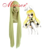 Umineko no Naku Koro ni -Thank silk tower Milk golden Cosplay wig 018J