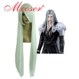 Cosplay wig Final Fantasy-Sephiroth silvery white anime wig001D