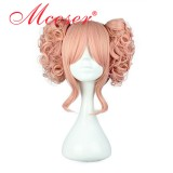 35cm Long Pink Beautiful Lolita Wig WIG-301D