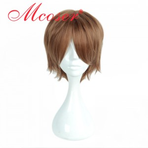 35cm Short Straight Harry Potter Cosplay Wig WIG-659E