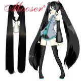 Vocaloid black cosplay wig 072B