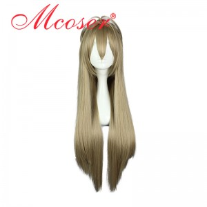 90CM Long Straight Amagi Brilliant Park-Sento Isuzu Cosplay Wig WIG-564A