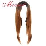 70CM Long Straight Lolita Wig Mix Color WIG-811C