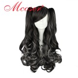 70CM Lolita/zipper wig Mix Color With Two Ponytails WIG-382A