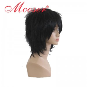 Ao no Exorcist-okumura rin black cosplay wig 060A