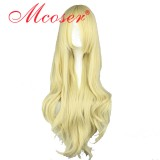 Touhou Project-Kirisame Marisa Light golden Cosplay wig 021A