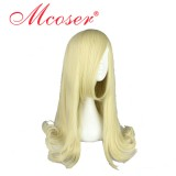 45CM Lolita wig Beige Color Short Curly Hair WIG-522A