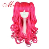 70CM Lolita/zipper wig Mix Color With Two Ponytails WIG-380A