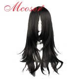 60cm Medium NARUTO-Orochimaru/Hyuuga Neji Black Cosplay Anime wig