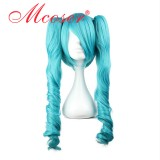 Vocaloid- Miku Blue Mixed Cosplay Wig WIG-233A