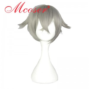 30cm Short Straight sword art online Hotarumaru Cosplay Wig WIG-579J