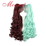 60cm Long Color Mixed Beautiful Lolita Wig WIG-313A