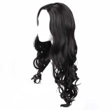 Mcoser Wonder Woman Cosplay Wig 70 cm Black Color WIG-016T