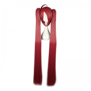 130CM Long Straight DATE A LIVE-Itsuka Kotori Red Color Cosplay Wig WIG-556D