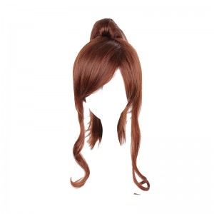 40CM Sailor Moon Crystal Medium  Brown Color Cosplay Wig WIG-057C